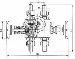 首页 产品中心 针型阀 > qff3针型阀  【 结构图】图片